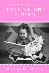 Give Your Child A Head Start With Phonics