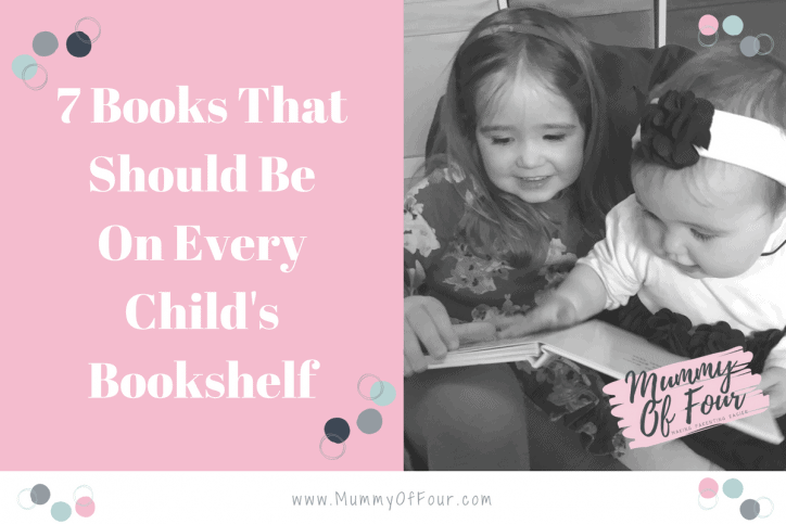 7 Books That Should Be On Every Child's Bookshelf