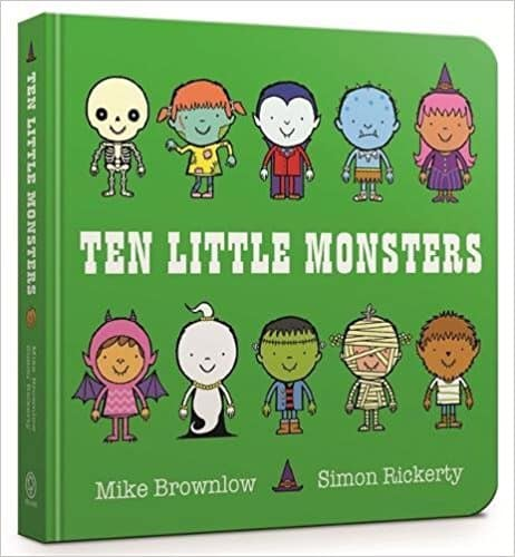 Ten Little Monsters: Board Book