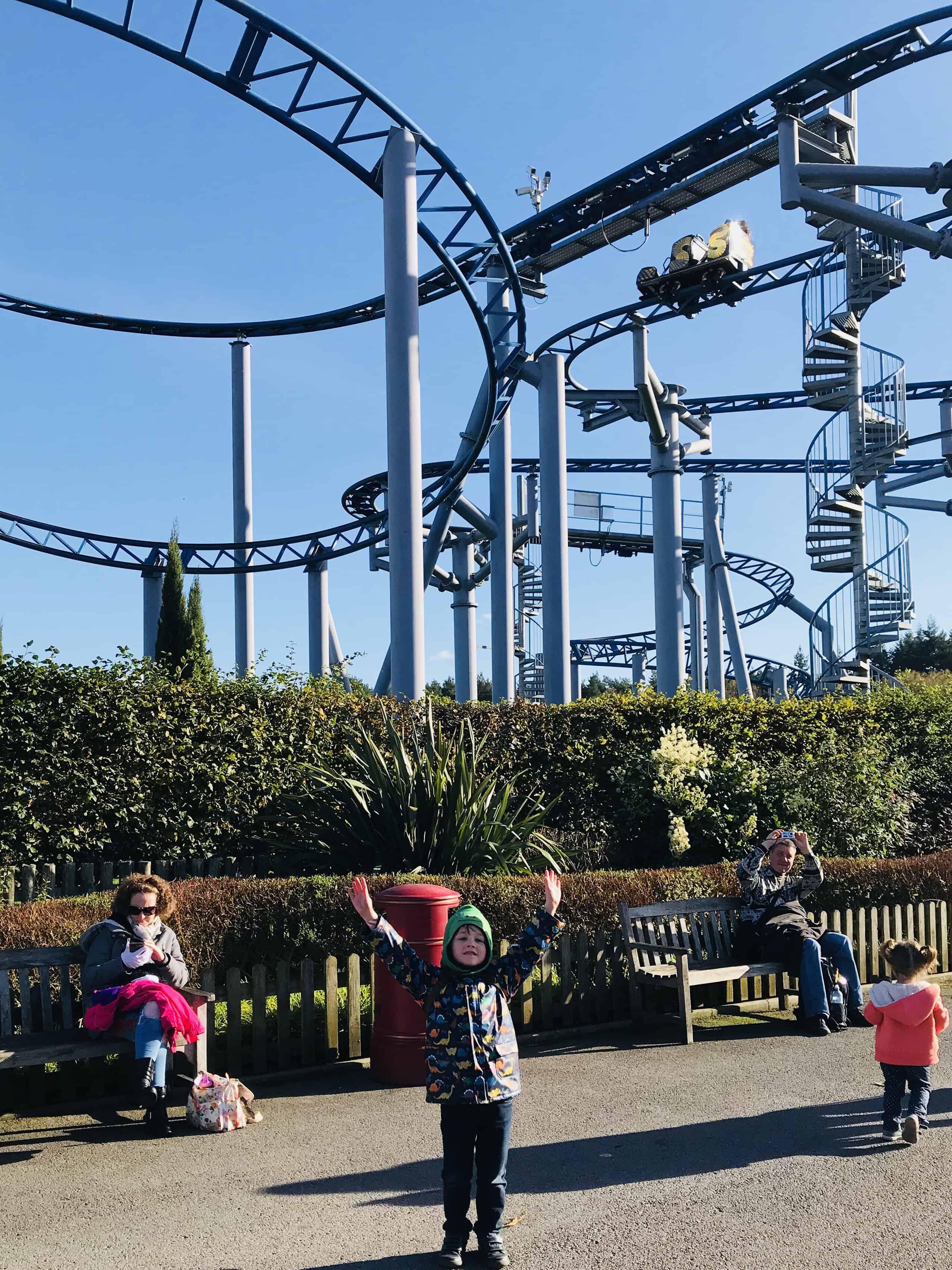 Cobra Rollercoaster at Paulton's Park