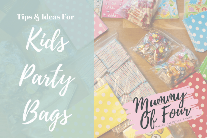 Tips Ideas For Kid S Party Bags Plus Free Printable