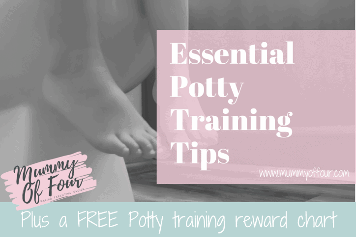 Make Potty Training Easy With These Tips & FREE Reward Chart | Mummy ...